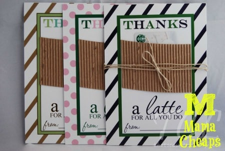 10 Teacher Gift Card Ideas with Free Printables | Mama Cheaps