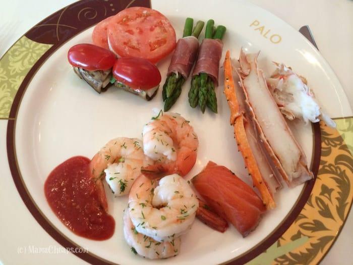 Palo appetizers
