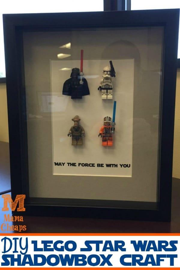 Lego Star Wars Shadow Box Craft