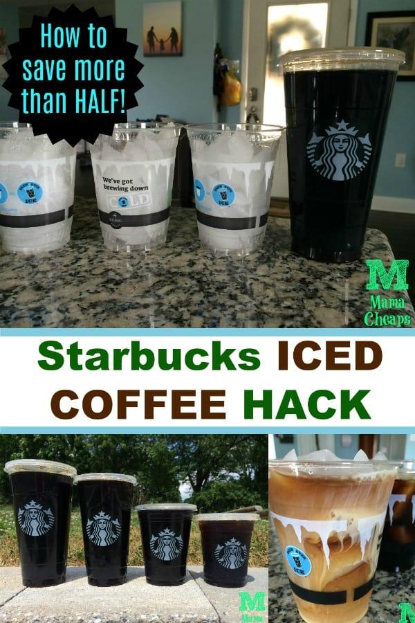 Starbucks ICED COFFEE HACK