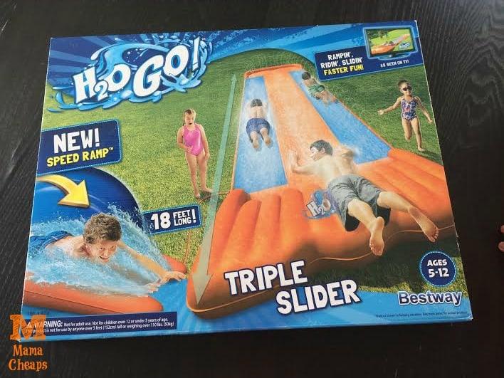 h2o go triple slider in box