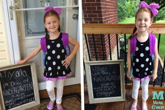 lily first and last day of school