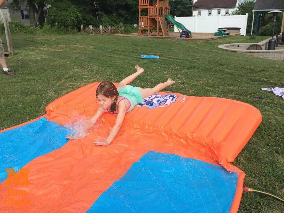 lily on h2o go triple slider