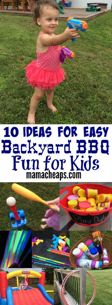 10 Ideas for Easy Backyard BBQ Fun for Kids PIN
