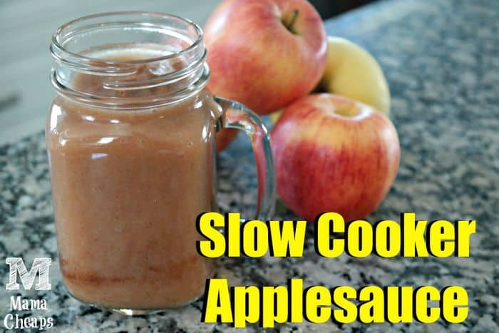 slow cooker apple sauce recipe