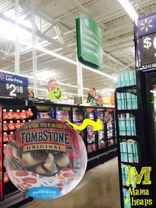Walmart Halloween Tombstone Pizza Pepperoni