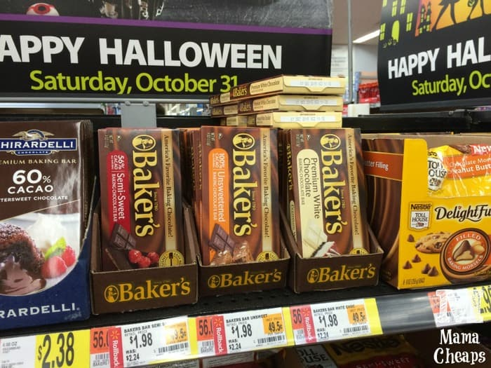 bakers chocolate walmart