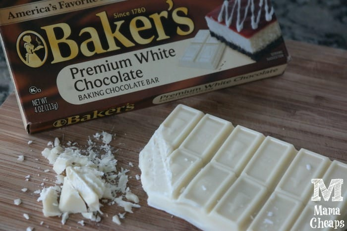 bakers white chocolate