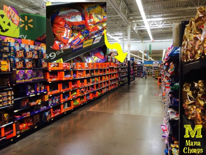 nestle candy at walmart halloween