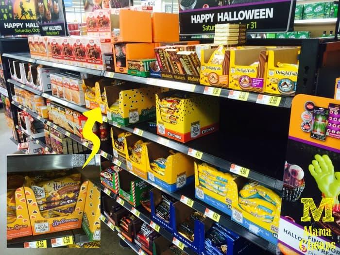 nestle toll house halloween morsels