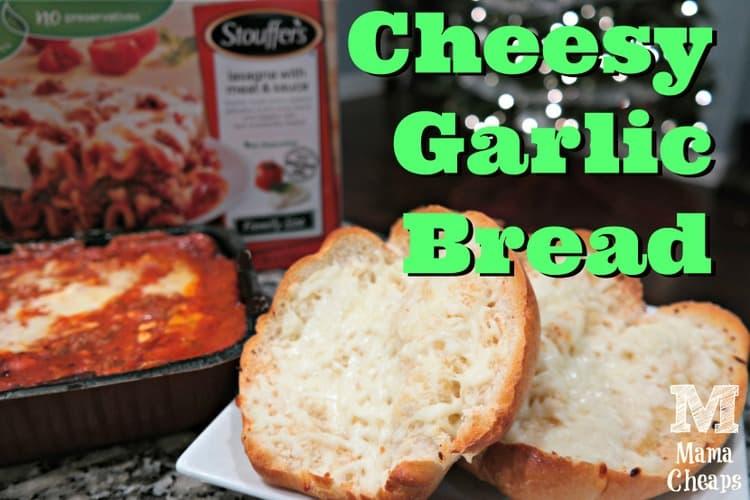 Cheesy Garlic Bread Recipe