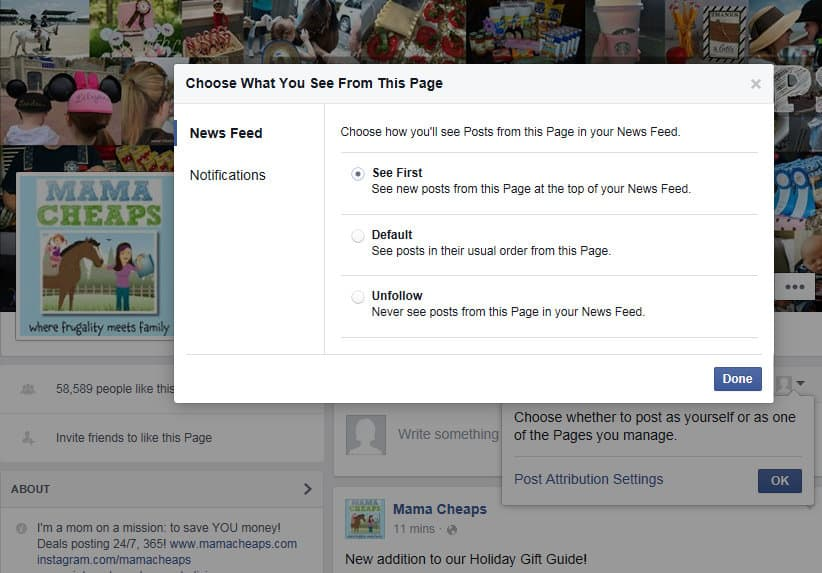 how to get facebook views