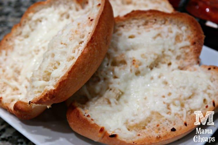 cheesy garlic toast