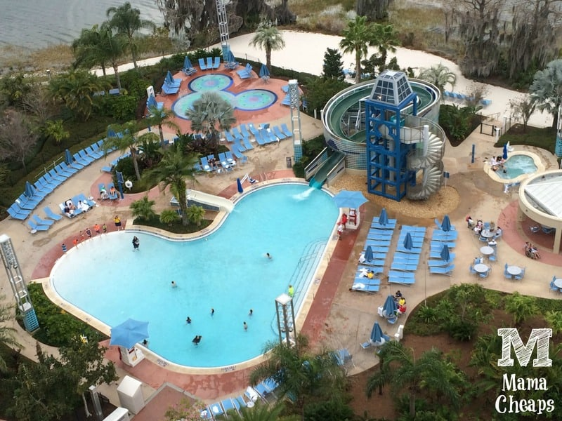 Disney Bay Lake Tower Pools