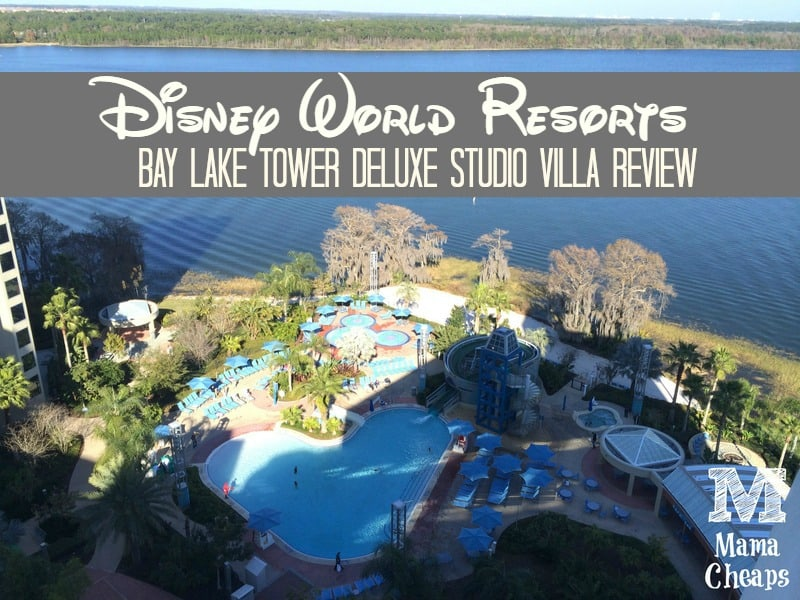 Disney World Resorts Bay Lake Tower Deluxe Studio Villa Review