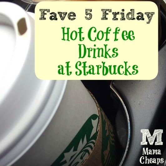 Hot Starbucks Drinks