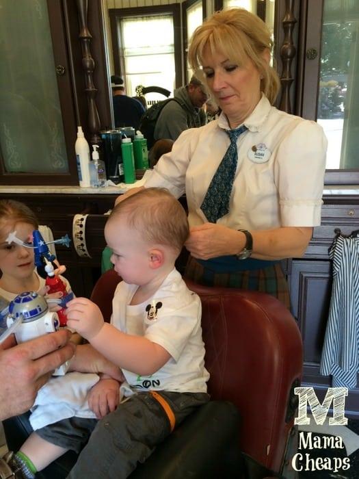 Landon's First Haircut Disney World