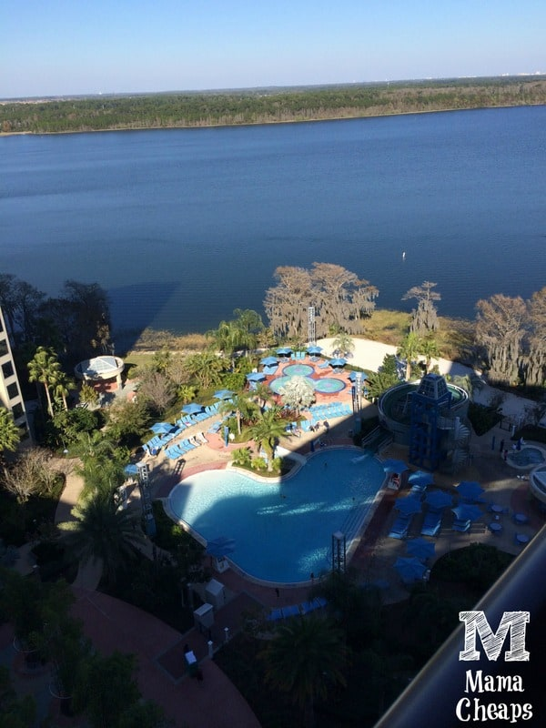 bay lake tower pool