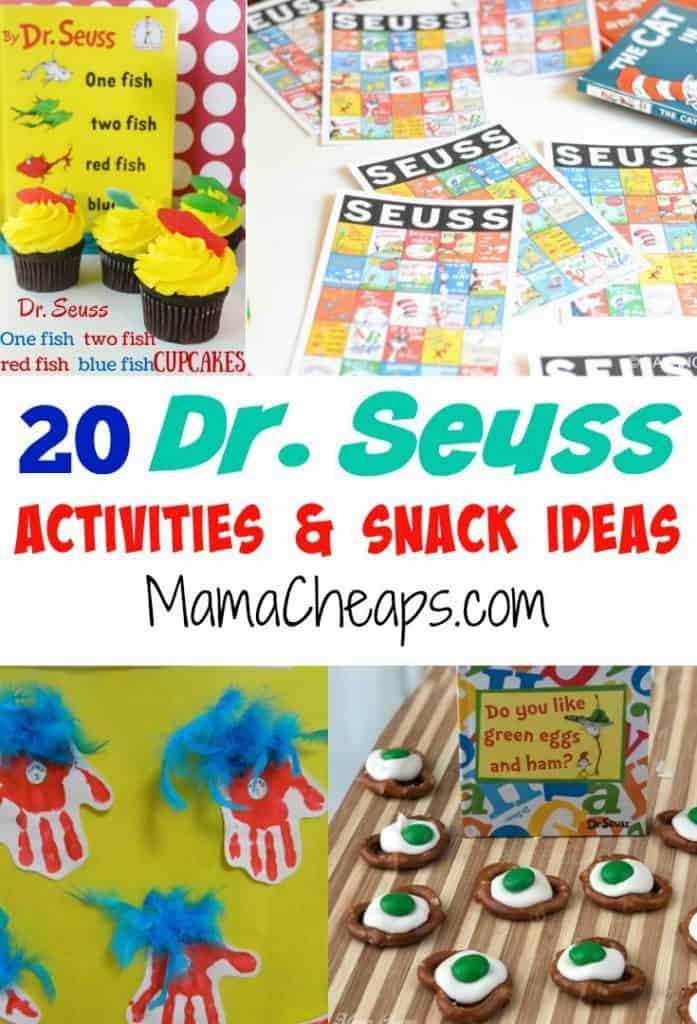 Dr-Seuss-Activities-and-Snack-Ideas title