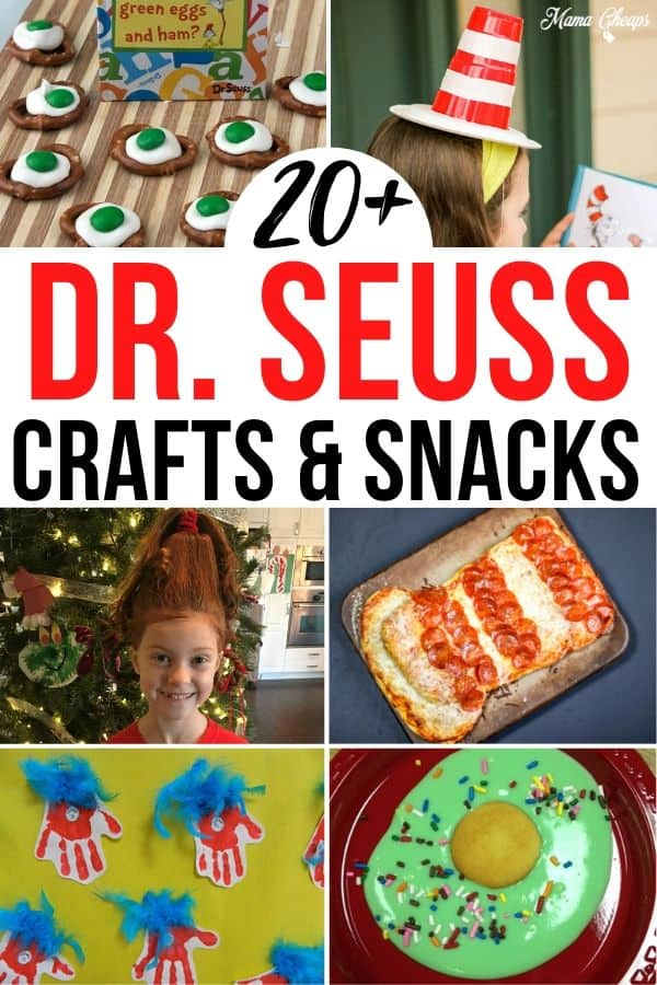Dr Seuss Ideas for Kids PIN