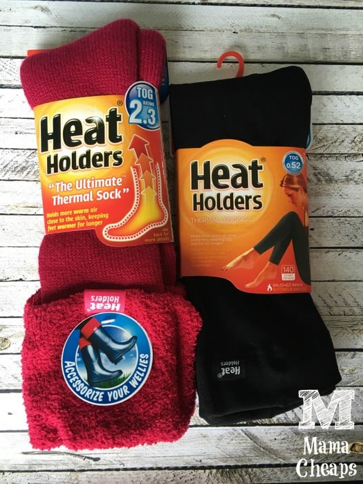 Heat Holders Socks and Leggings