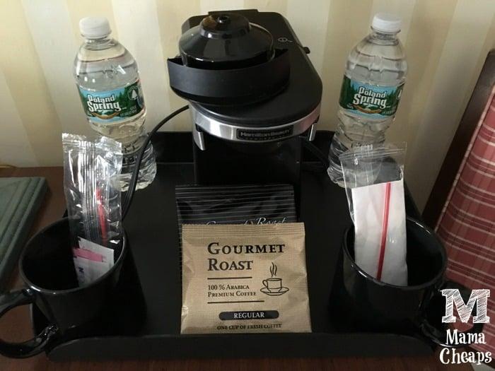 Hotel Room Coffeemaker