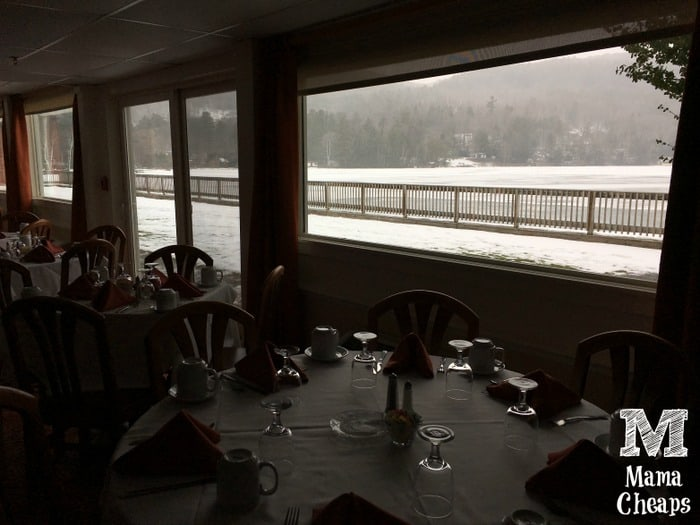 Lake Morey Resort Dining Room Lake View