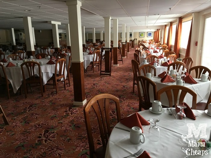 Lake Morey Resort Dining Room