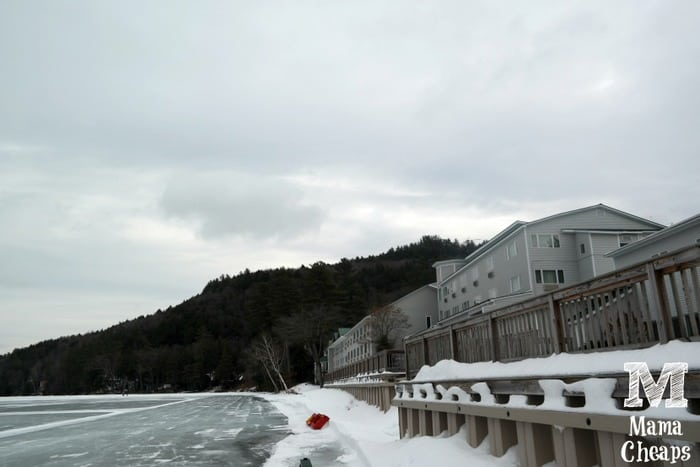Lake Morey Resort Winter
