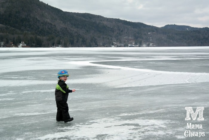 Landon Lake Morey Ice Skating