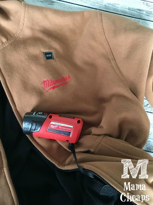 Milwaulkee Battery Heated Sweatshirt