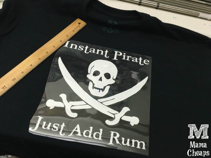 Pirate Silhouette Shirt Project