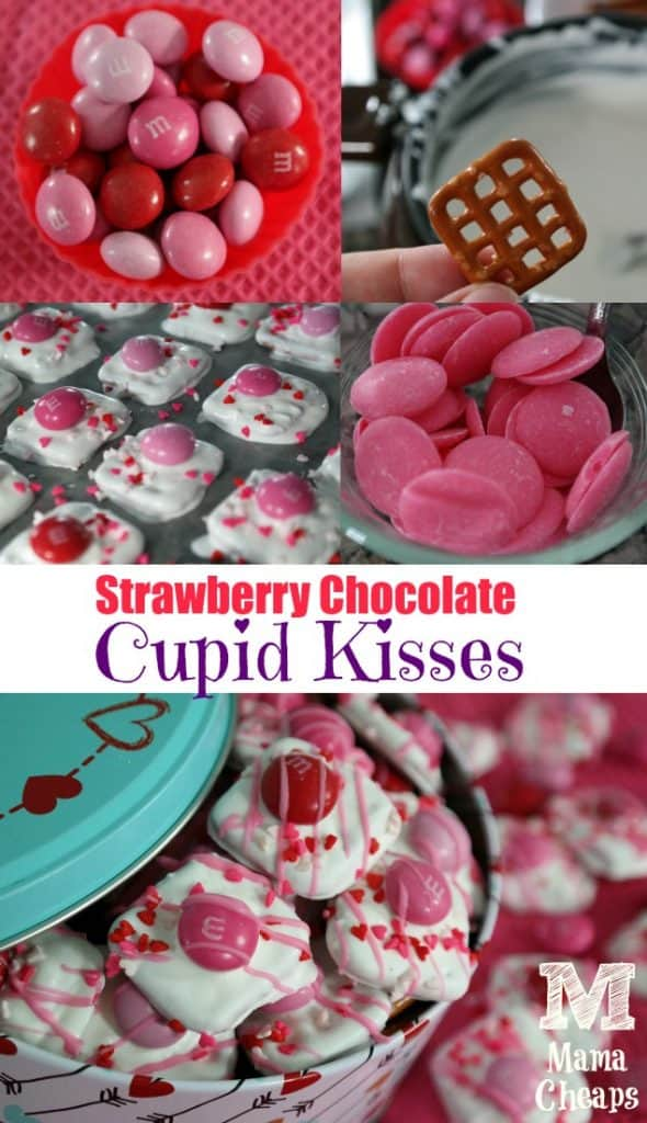 Strawberry Chocolate Cupid Kisses