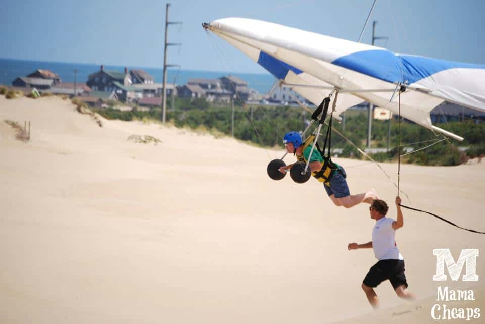 Hang Gliding on Jockeys Ridge Outer Banks