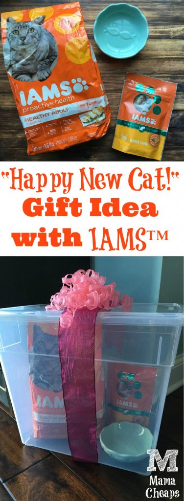 Happy New Gift Idea with IAMS