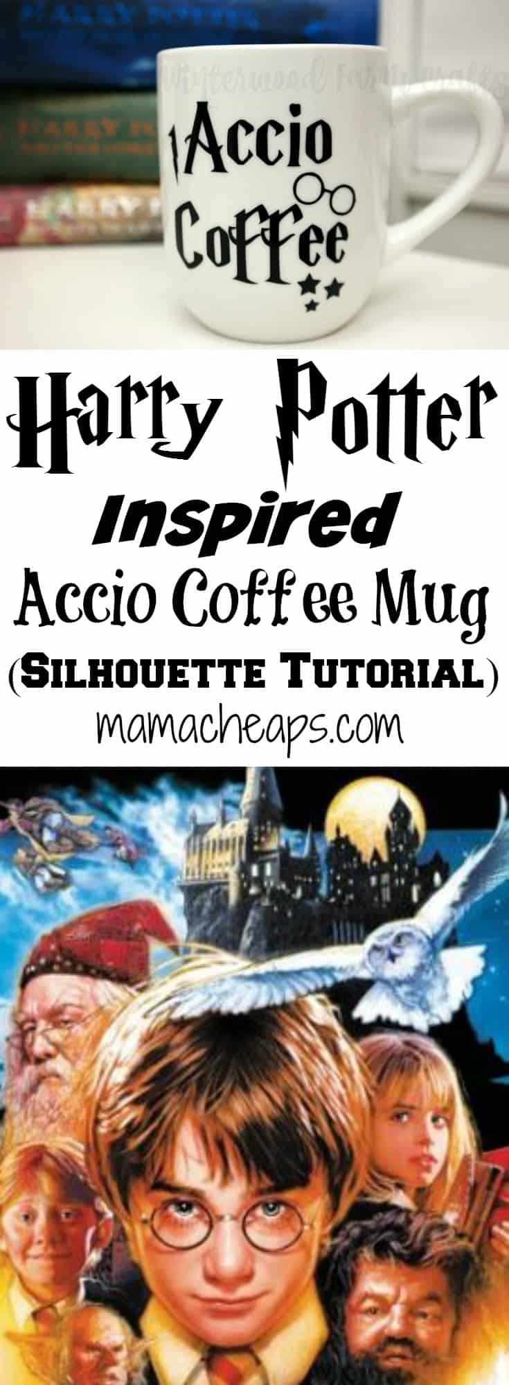 Harry Potter Inspired Accio Coffee Mug