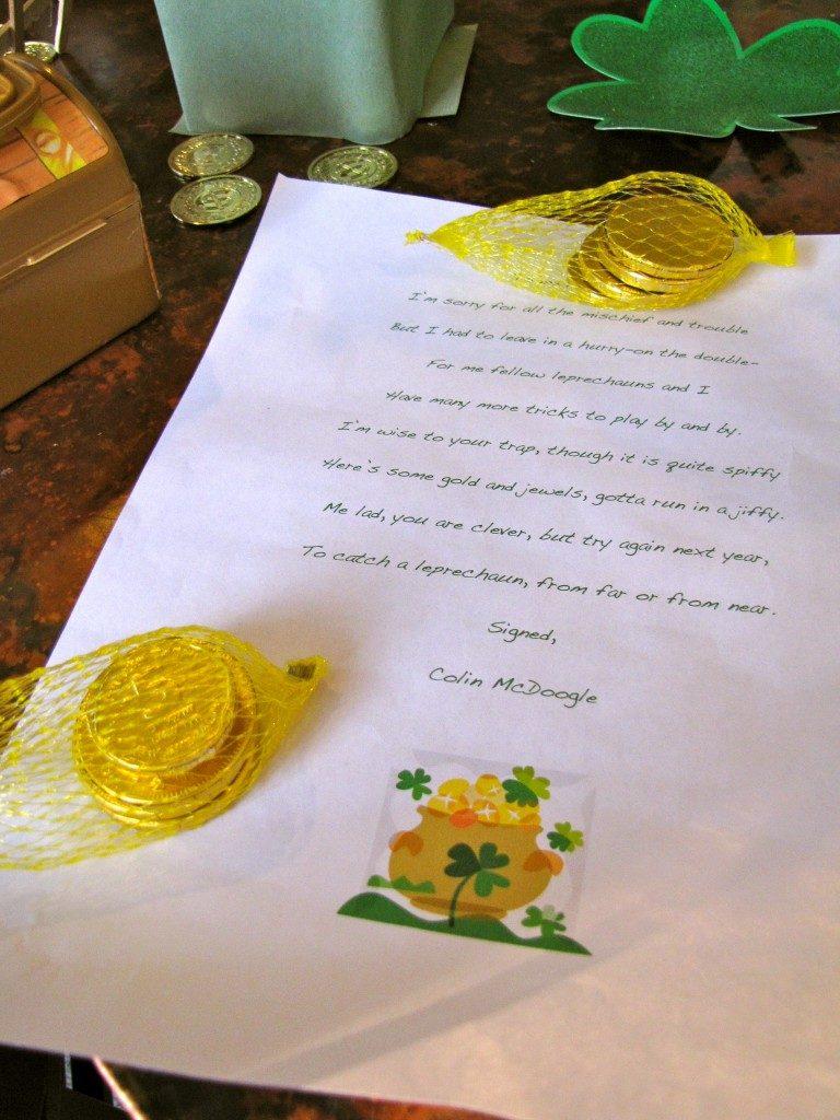 Leprechaun Letter