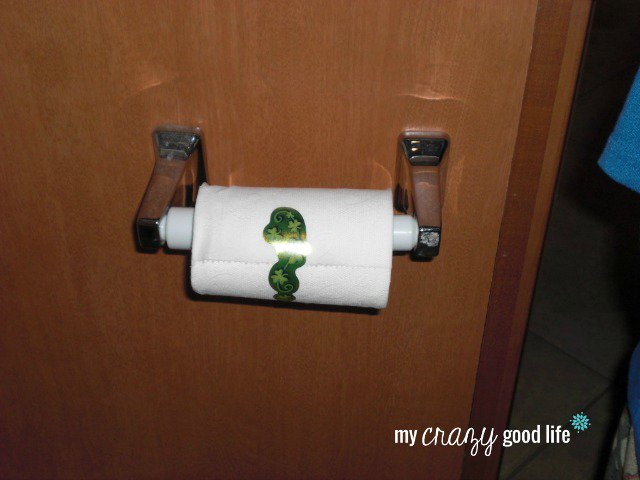 Leprechaun Toilet Paper Stickers