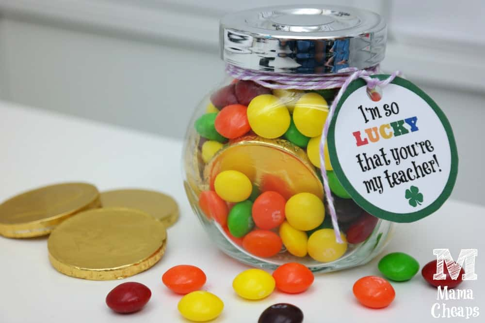 Rainbow Pot of Gold Teacher Gift