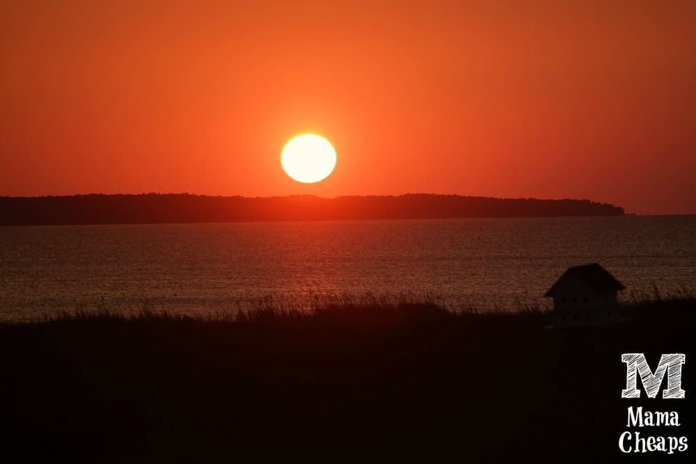 Sunset from <a href=