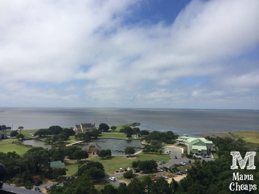 View from Currituck Beach Lighthouse
