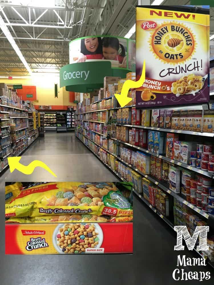 Walmart Cereal Aisle