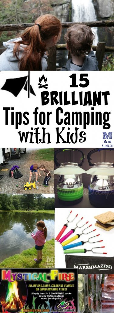 15 Brilliant Tips for Camping with Kids