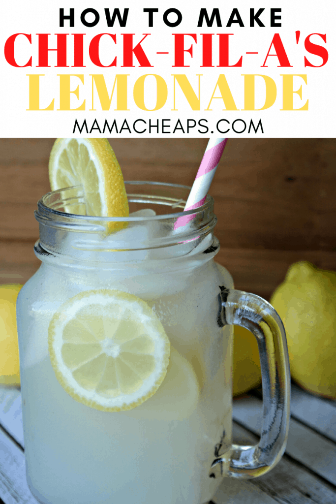 chick fil a copycat lemonade