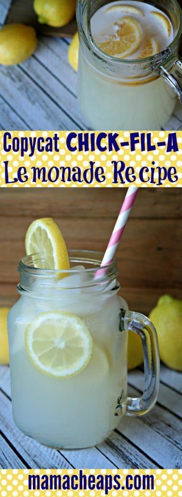 Chick Fil A Copycat Lemonade PIN