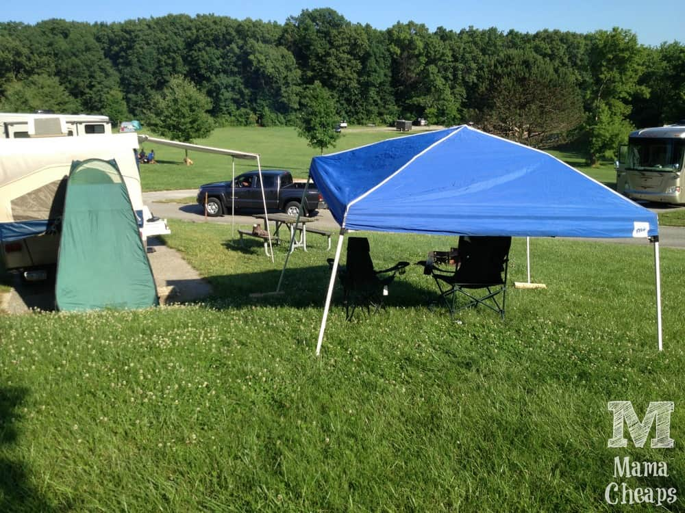 EZ Up Canopy Tent for Camping