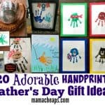 Father's Day Handprint Gifts
