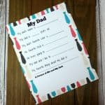 Fathers Day Survey for Kids