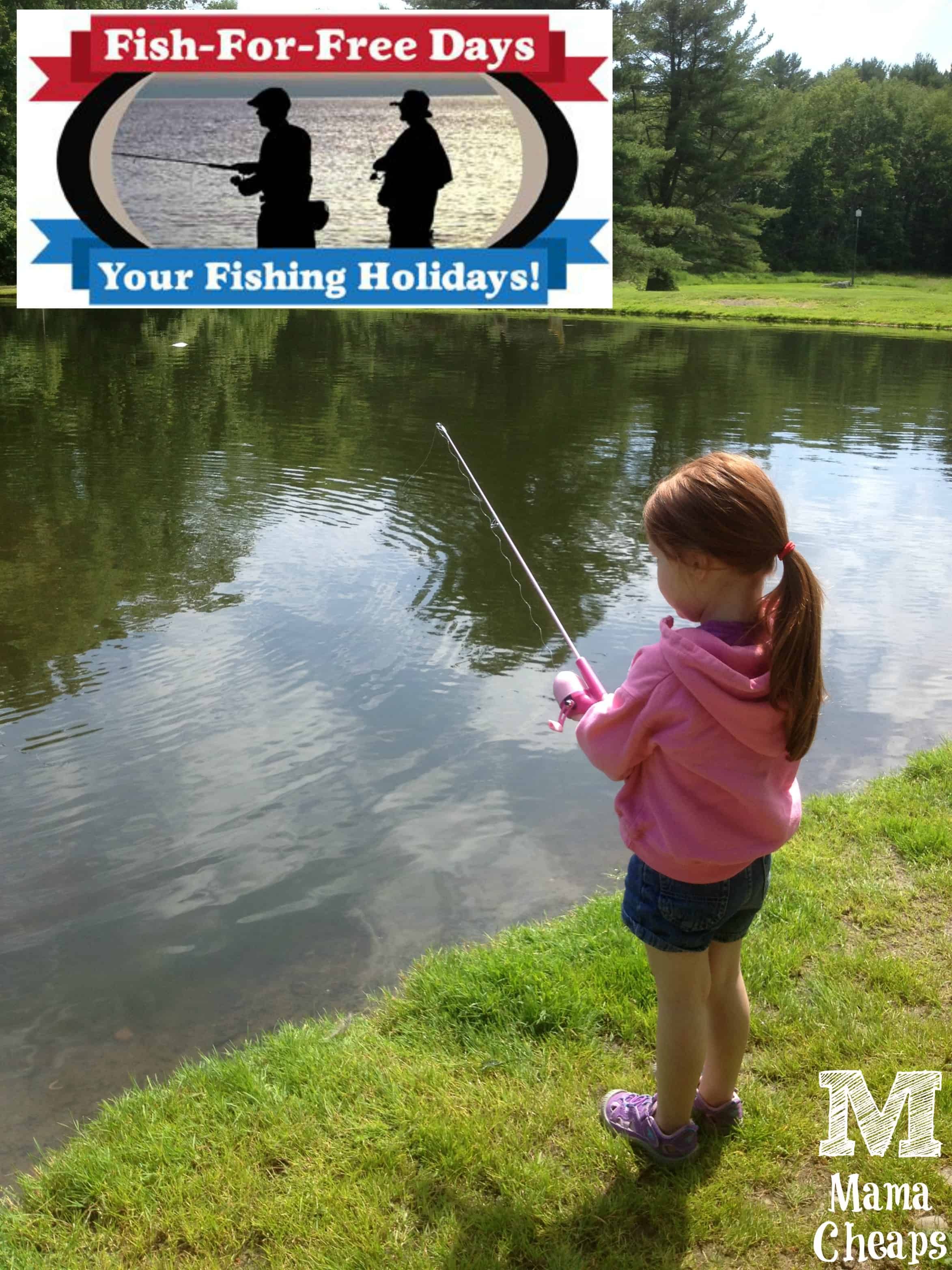 Pennsylvania fish for free day 7 4 17 mama cheaps for Free fishing day 2017 pa