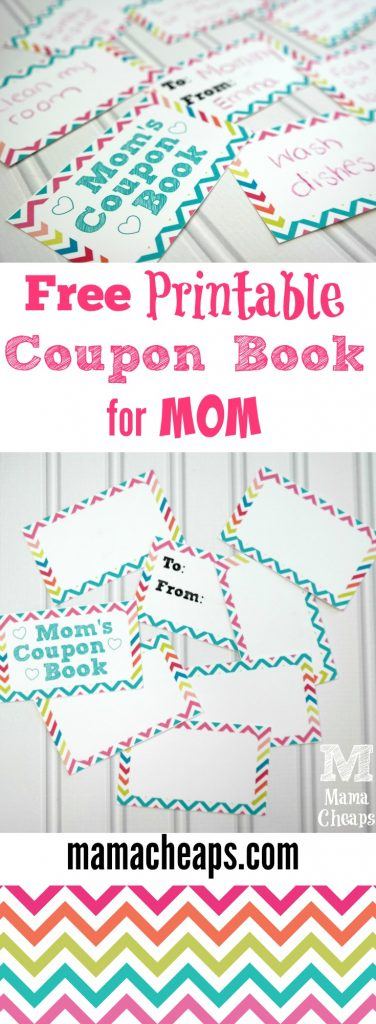 Free Rainbow Printable Coupon Book for Moms